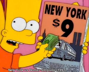 Los Simpson 9-11 New York