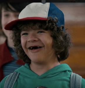 Dustin Henderson (los niños de Stranger Things)
