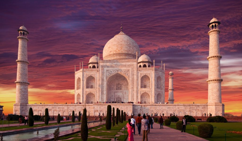 Mejores destinos turísticos del mundo, Taj Mahal Agra India