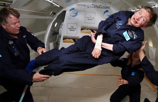 Stephen Hawking y la gravedad 0