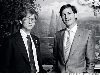 3ad538fe3a2 Steve Jobs y Bill Gates: Duelo de titanes - Conoceque
