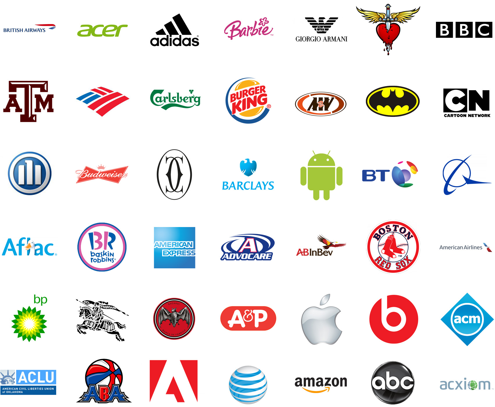 TRIVIA ¿ Puedes Adivinar El Nombre De Estos Logos