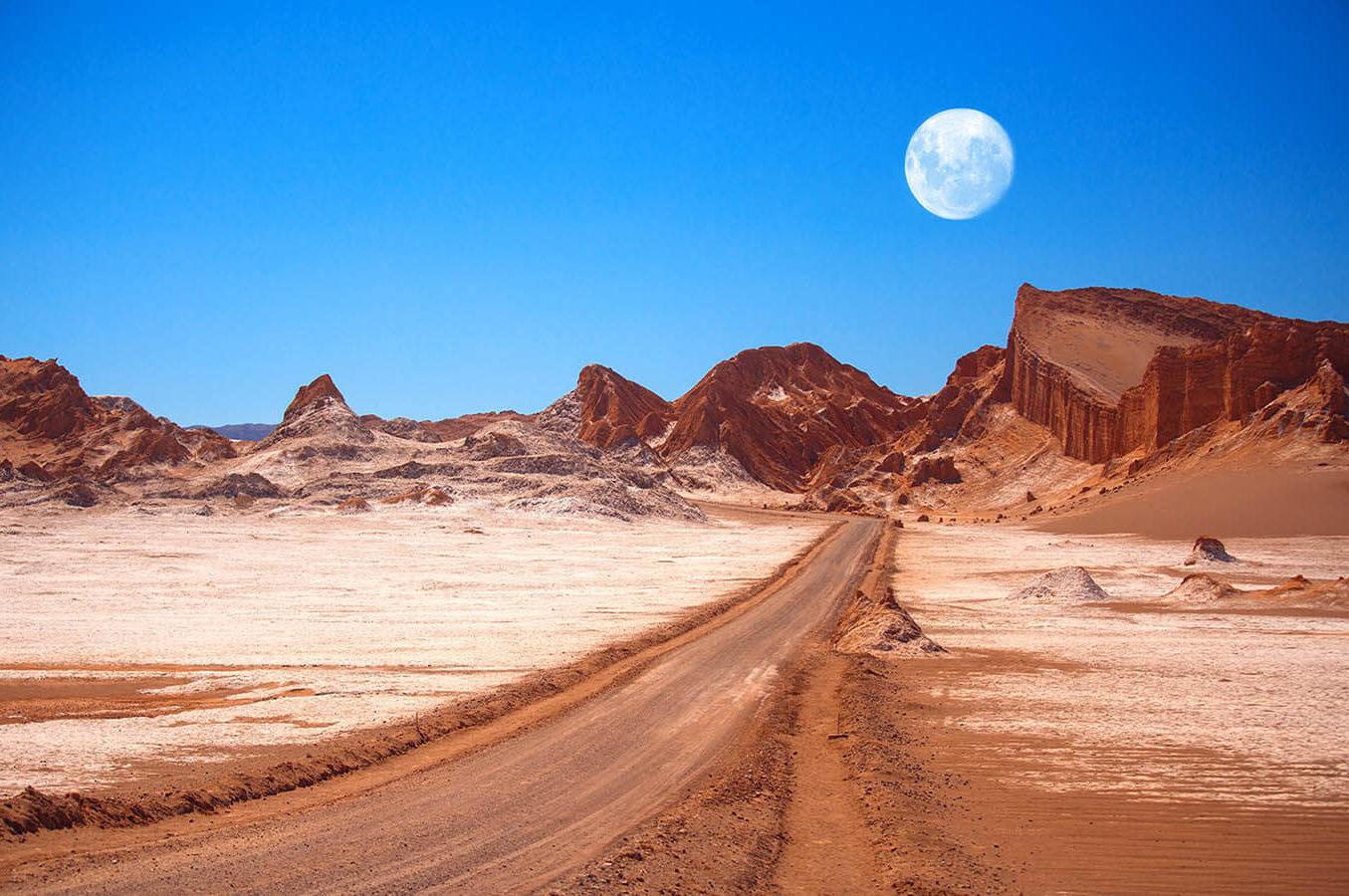 Curiosidades del desierto de Atacama. El lugar no polar más árido del planeta