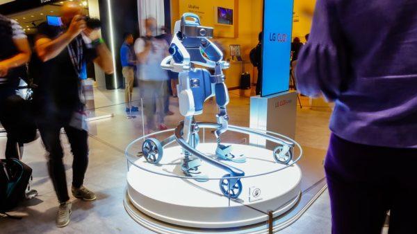 lg robot exoskeleton ifa-2018
