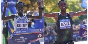 Ganadores del Maratón de Nueva York
