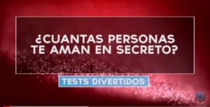 cuantas personas te aman en secreto