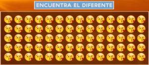 Reto visual puedes encontrar el emoji perdido