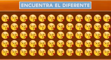 Reto visual: Encuentra el emoji diferente