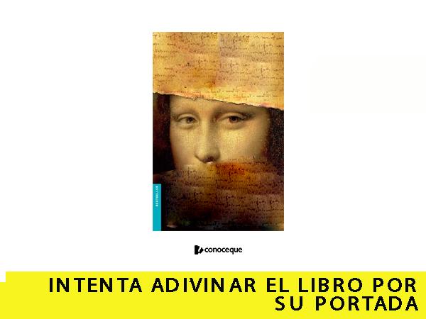 Intenta ADIVINAR EL LIBRO POR SU PORTADA