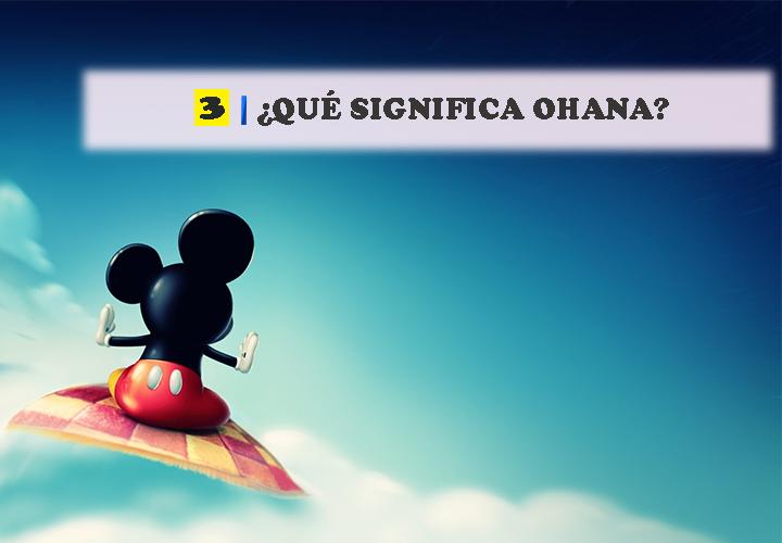 Pregunta 3 Vocabulario de Disney