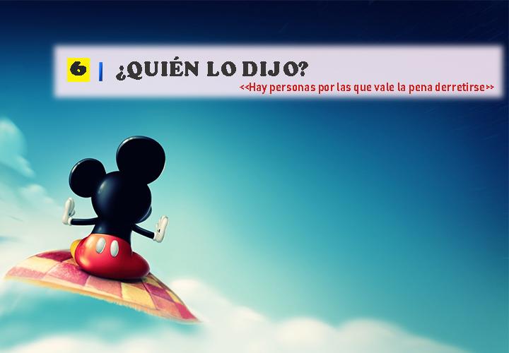 Pregunta 6 Vocabulario de Disney