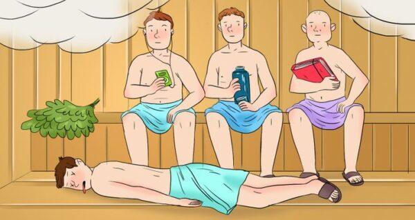 ¿Quién es el asesino  del Sauna? RESUELVE este Acertijo!