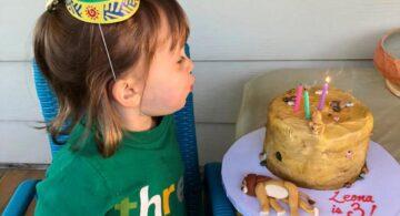 Una niña pide como torta de cumpleaños la muerte de Mufasa y se hace Viral.