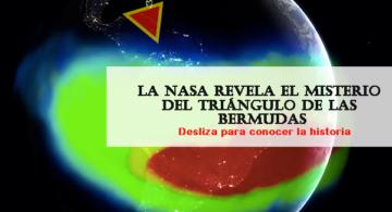 La NASA revela el SECRETO  DEL TRIÁNGULO de Las Bermudas