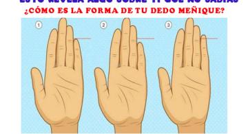 Tamaño del dedo meñique y lo que esto dice sobre ti